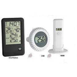 TFA Digitális medence- és levegő hőmérő 30.3053