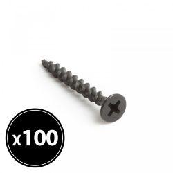Gipszkarton csavar fém menetes - 3,5 x 35 mm - 100 db / csomag 04801