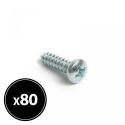 Forgácslap csavar - peremes lencsefejű - 4,2 x 16 mm - 80 db / csomag 04805
