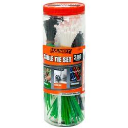 Kábelkötegelő szett 300 db / csomag 05431