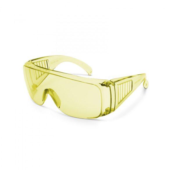 Professzionális védőszemüveg UV védelemmel sárga