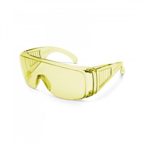 Professzionális védőszemüveg UV védelemmel sárga  10382YE