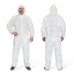 Handy Egyszer használatos, eldobható, univerzális méretű (XL) kapucnis védőoverál (10399)