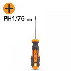 Handy csavarhúzó PH1 75mm 10523
