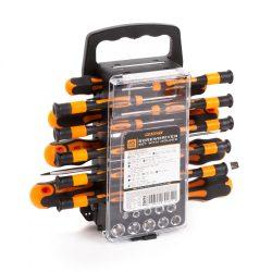 Csavarhúzó készlet - hordozótáskával - 45 részes 10694