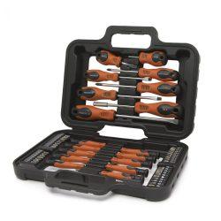 Handy 58 db-os csavarhúzó készlet táskában 10742