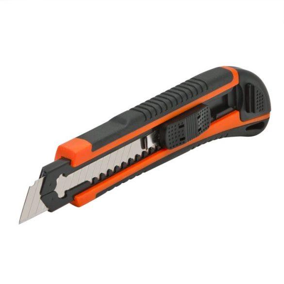 Univerzális kés automatikus utántöltés 6 db 18 mm-es törhető pengével 10811