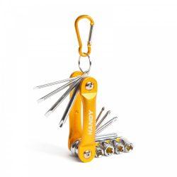 Csavar és dugókulcs készlet - praktikus, kompakt 10858