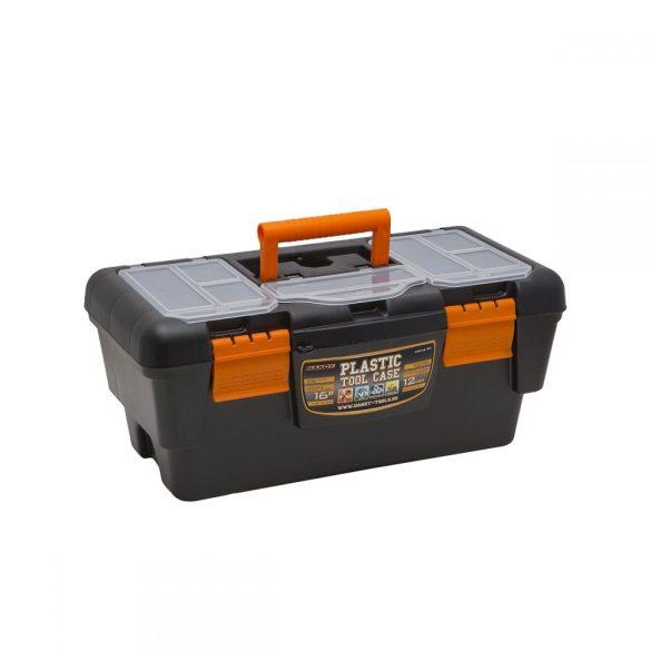 """Szerszámos láda HANDY Műanyag szerszámtartó, 16""""  400 x 220 x 180 mm 10911"""