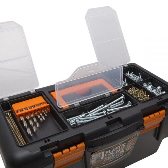"""Szerszámos láda HANDY Műanyag szerszámtartó, 19"""" 480 X 250 X 230 mm 10912"""