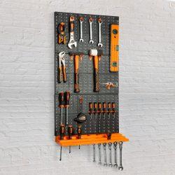 Fali rendszerező, szerszámtartó - 3 db tábla, 50 x 33 cm 10944B