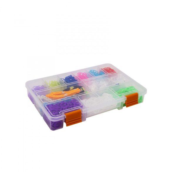 """Műanyag tárolódoboz 9"""" - 228 x 148 x 32 mm 10972"""