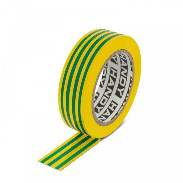 Szigetelőszalag 19 mm · 10 m zöld / sárga 11096X