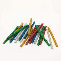 Handy ragasztórúd 7mm-es színes glitteres 20 db/csomag 11108C