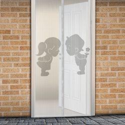 Szúnyogháló függöny ajtóra mágneses 100 x 210 cm Fiú + Lány, 11398F