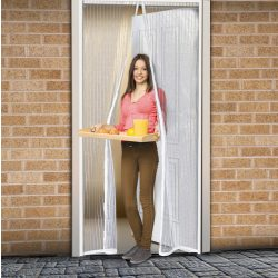 Szúnyogháló függöny ajtóra fehér 11398WH