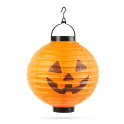 Halloween-i LED-es lampion 1 LED - Tök - 2 x AAA 11399D