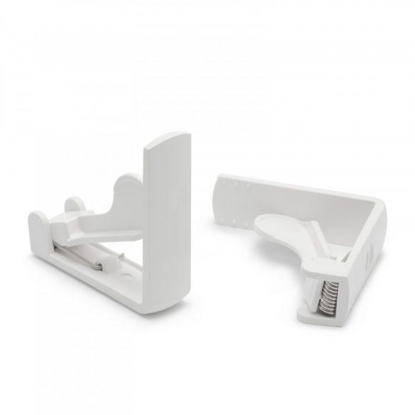Asztalterítő-leszorító csipeszszett rugós, fehér 4 db / csomag, 11524