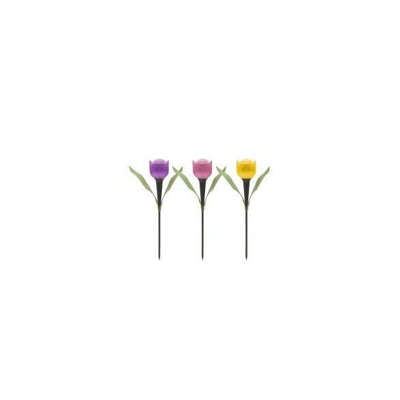LED-es szolár tulipánlámpa 11703