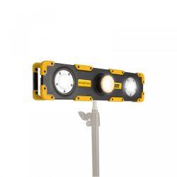 LED reflektor - akkumulátoros, dimmerelhető, fókuszálható - 1500 lumen 18649
