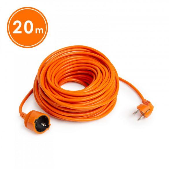 Hálózati lengő hosszabbító 3 x 1,5 mm² 20 m