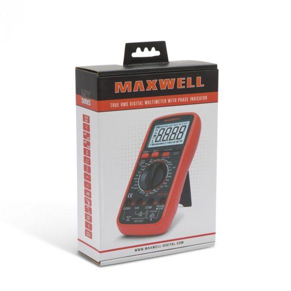 Multiméter Maxwell Digitális TTL logikai méréssel 25301
