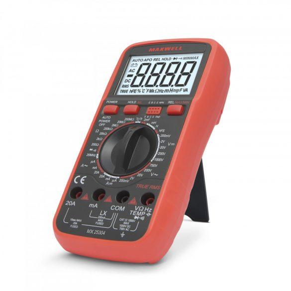 Multiméter MAXWELL  Digitális induktivitás méréssel. 25304