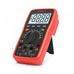 Multiméter MAXWELL  Digitális 5az1-ben USB-s kapcsolat PC-vel. 25328