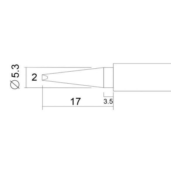 Pákahegy 28003-as pákához 2 db / bliszter 28924N