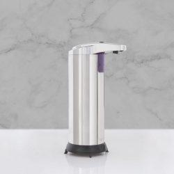 Automata szappanadagoló - 220 ml - álló - elemes - króm 51122A