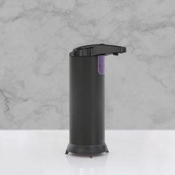 Automata szappanadagoló - 220 ml - álló - elemes - matt fekete 51122B