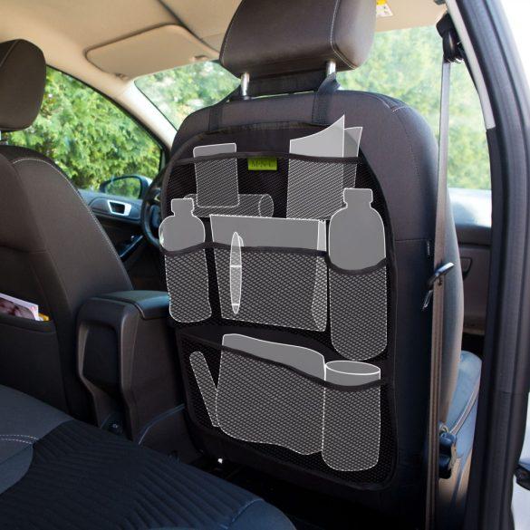 Ülésre akasztható autós rendszerező - 6 zseb - 42 x 59 cm 54923