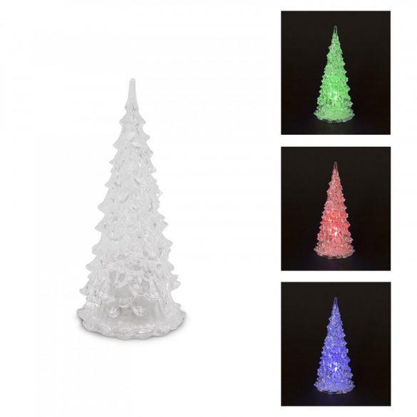 LED karácsonyfa 16 cm