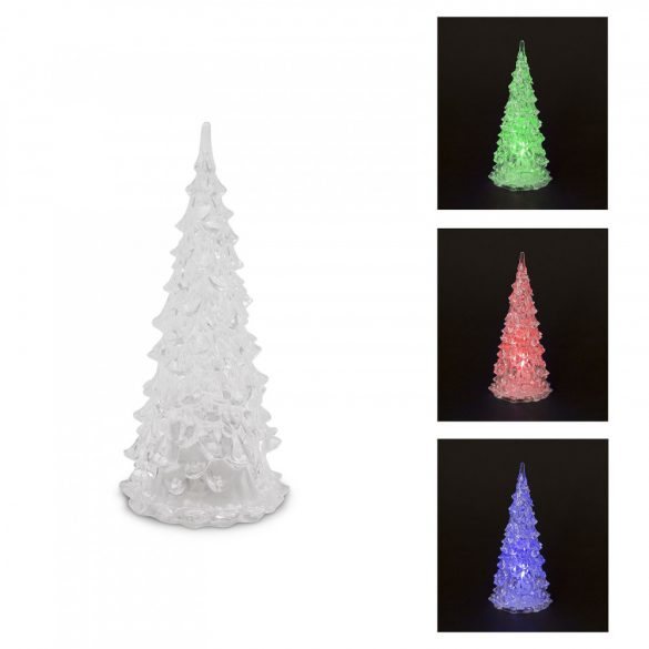 LED karácsonyfa 22 cm