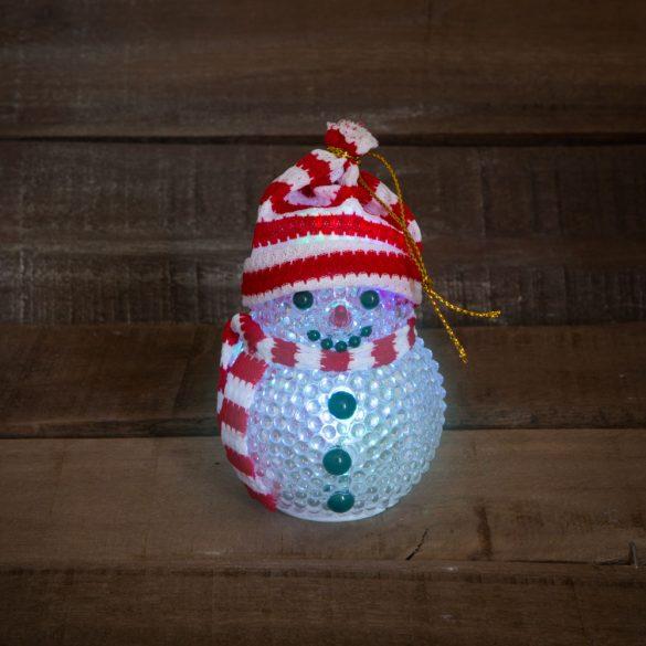 LED-es hóember ~ 8 cm