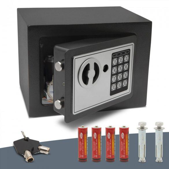 Smart széf páncélkazetta trezor programozható digitális. 230X170X170mm  55580