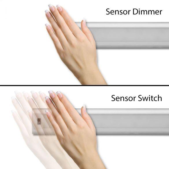 Phenom 55845 LED-es bútor világítás, szenzoros kapcsolóval, közép fehér fényű világítással, 9W