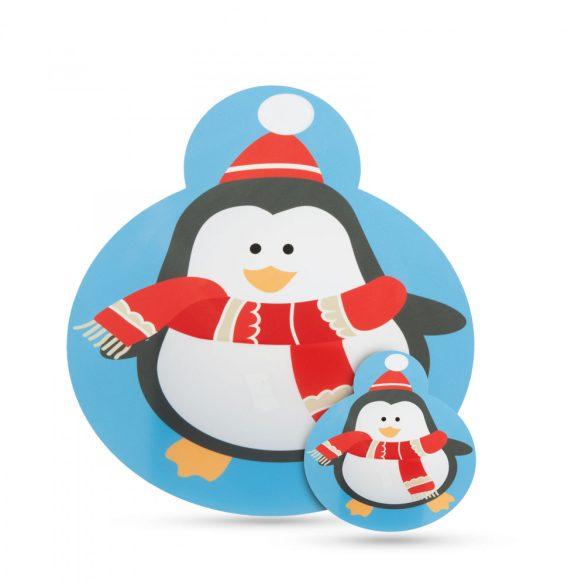 Tányér- és poháralátét - pingvin - 8 db / csomag