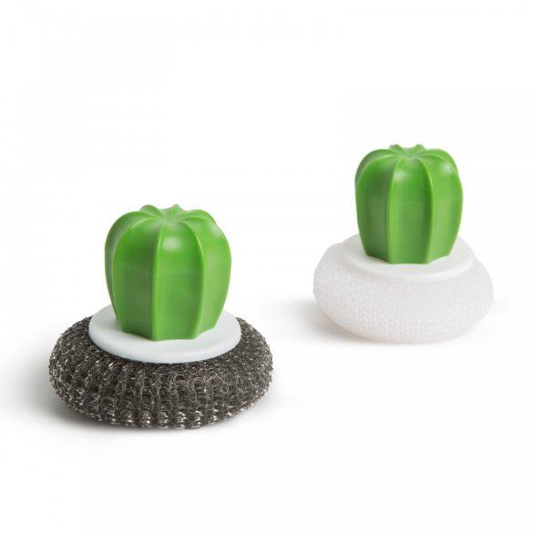 Dörzsi szivacs szett - 2 db - kaktusz - 8.5 x 8 cm 56157