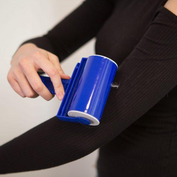 Ruhatisztító henger kék / piros - 17 x 11 cm, 57008