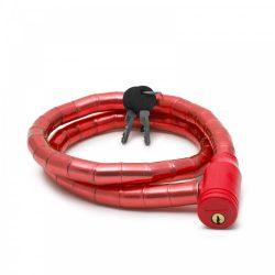 Kerékpár görgős lakat 18 mm / 100 cm piros 57078RD