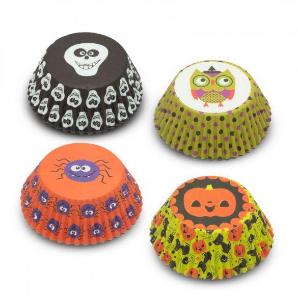 Muffin papír szett - halloween - 100 db / csomag