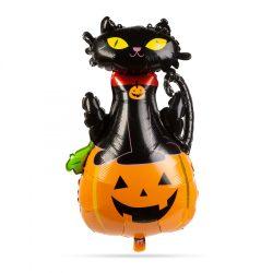 Halloween lufi - macska és tök 58080D