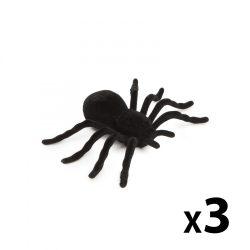 Halloween-i dekoráció - pók - 3 db / csomag 58100