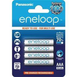 Panasonic AAA Eneloop 750mAh (4) mikroceruza méretű akkumulátor 4db/Bl