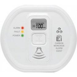 STECK Szén-monoxid CO érzékelő, riasztó, jelző készülék , elemes, LCD kijelzővel Ei207D 10év élettartam
