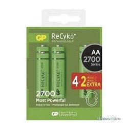 GP ReCyko+ 2600mAh ceruza akkumulátor 4+2
