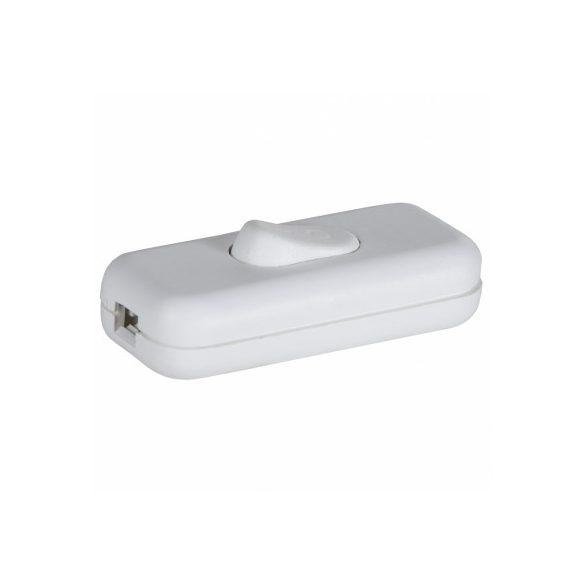 Zsinórközi billenő kapcsoló, fehér SKK 01