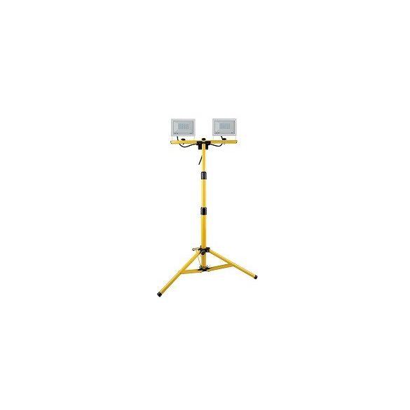 Állványos LED fényvető, 2*30W SLF302W