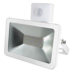 LED slim fényvető, 20W, szenzorral - SLF 20S